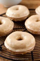Maple Glazed Donut Bundt Cake