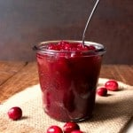 Cranberry Jam Fridge Style No pectin
