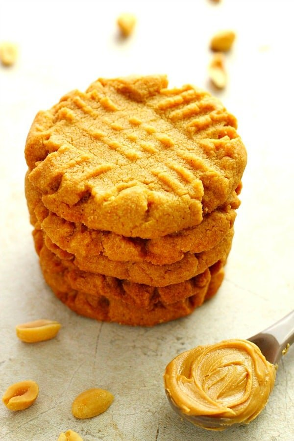 flourless peanut butter cookies A Flourless Peanut Butter Cookies