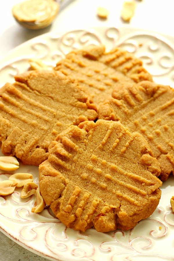 flourless peanut butter cookies B Flourless Peanut Butter Cookies