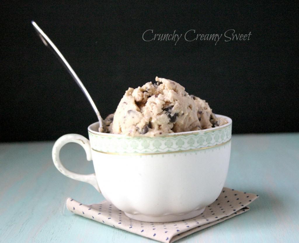 ccc frozen yogurt 2 1024x831 CCC Monday: Chocolate Chunk Cookie Dough Frozen Yogurt