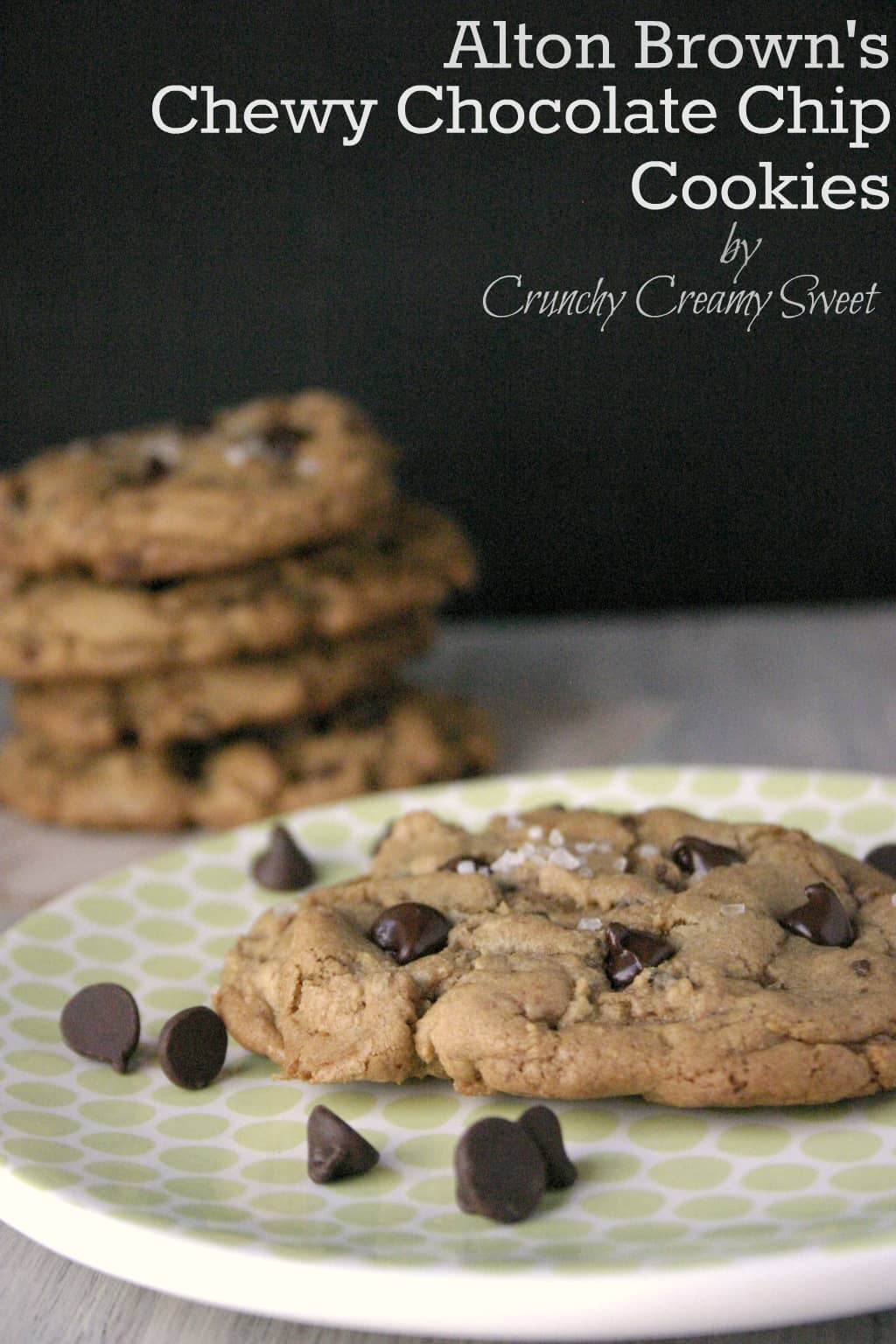 ccc alton brown 2 CCC Monday: Alton Browns Chewy Chocolate Chip Cookies