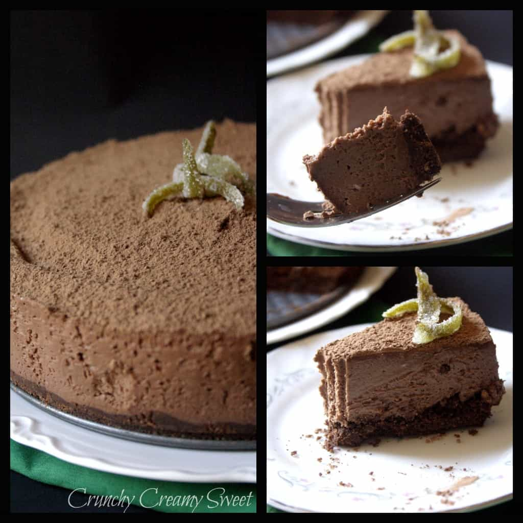 cheesecake collage No Bake Recipes Round Up
