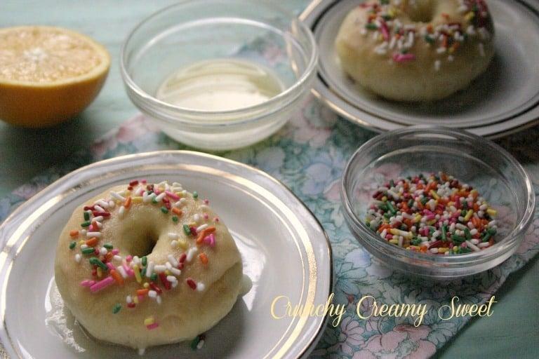 citrus glazed doughnuts Doughnut Holes