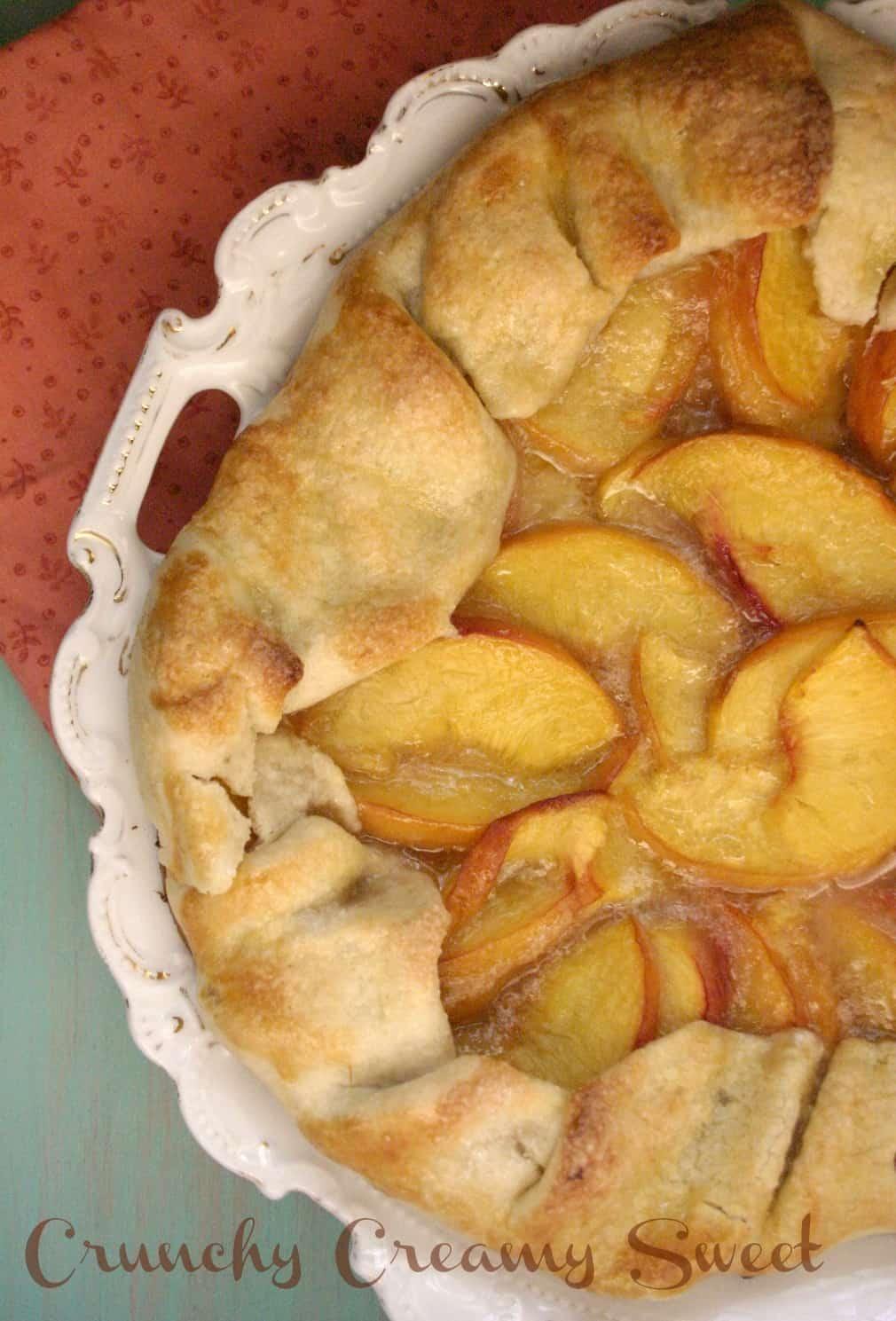 peach galette 1a Peach Galette