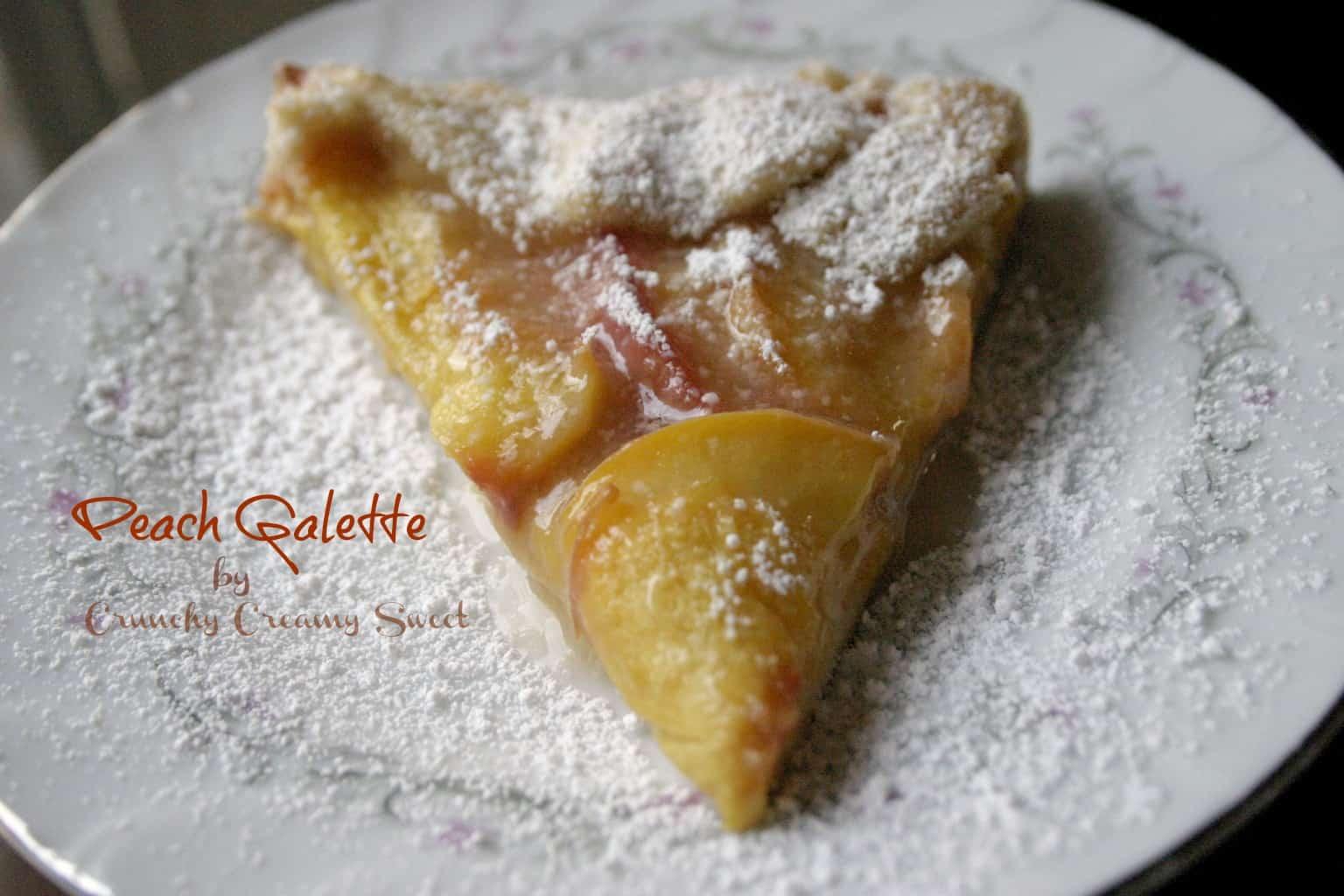 peach galette 1st Peach Galette