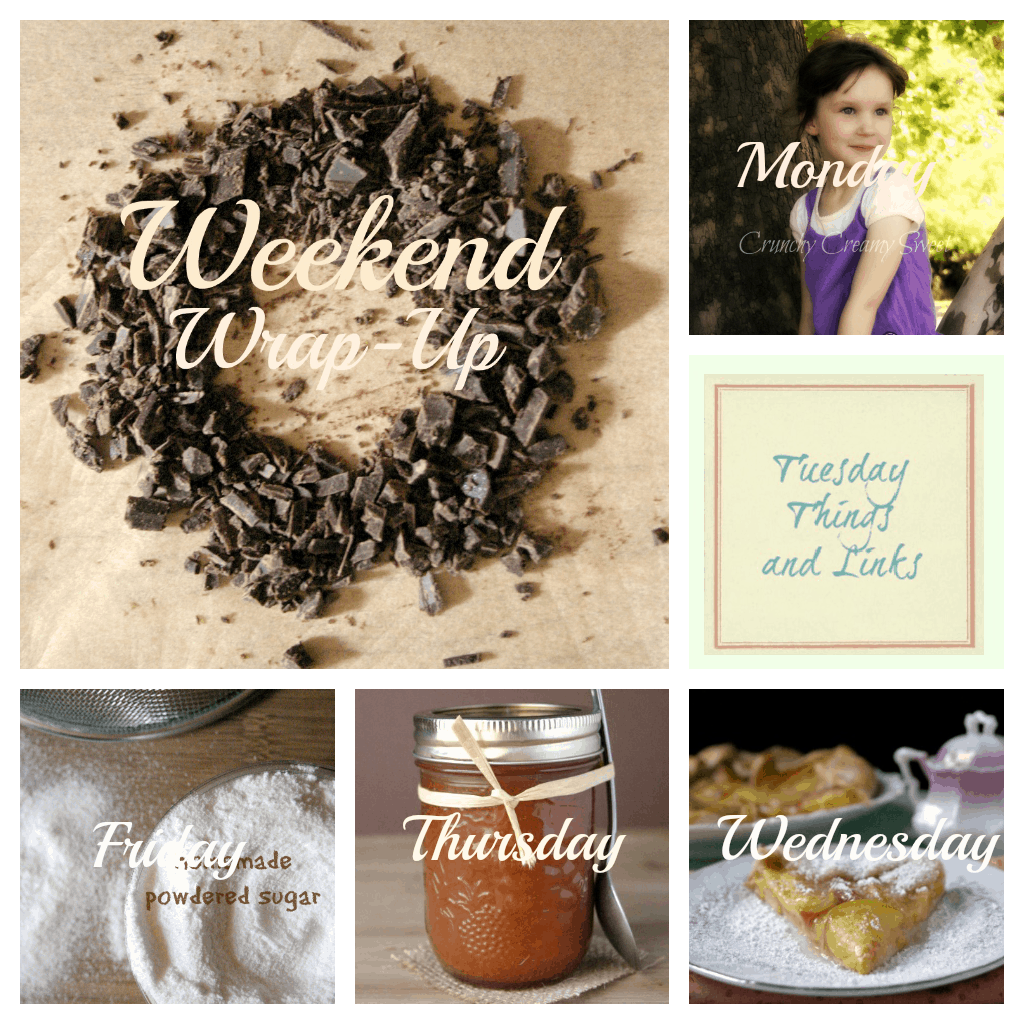 weekend wrap up august 18 Weekend Wrap Up