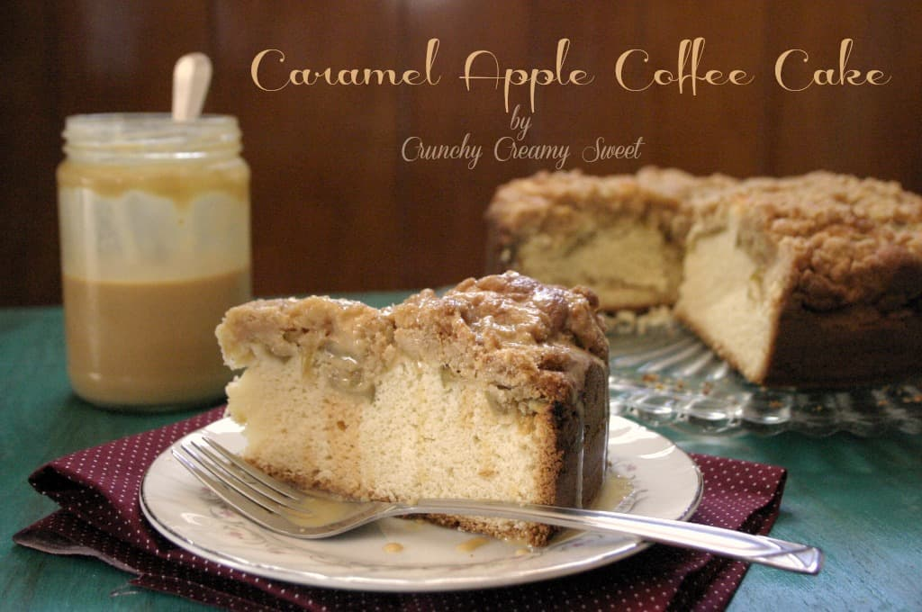 caramel apple cake 3 Caramel Apple Coffee Cake