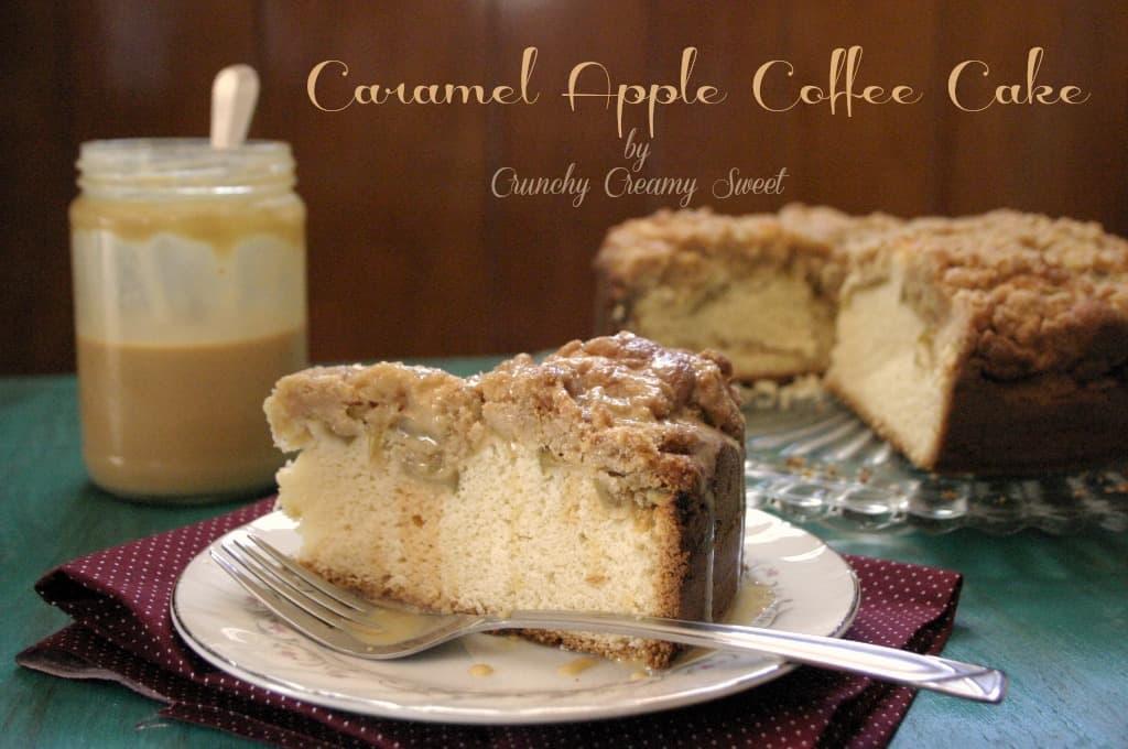 caramel apple cake 3 Caramel Apple Coffee Cake