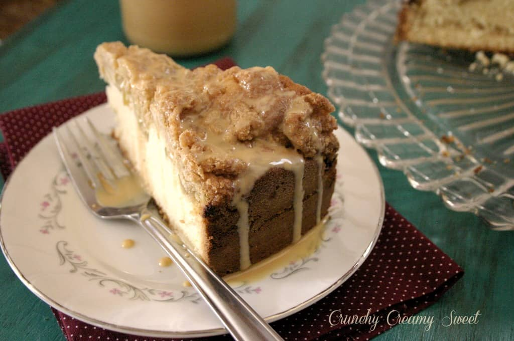 caramel apple cake 4 Caramel Apple Coffee Cake