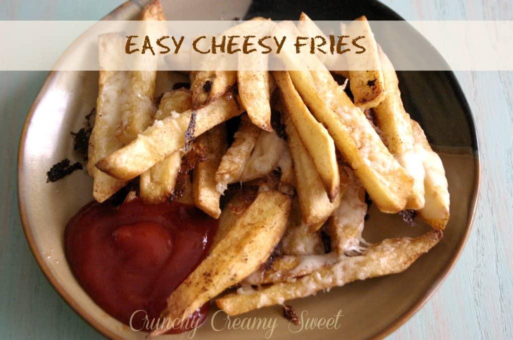 cheesy fries Easy Cheesy Fries
