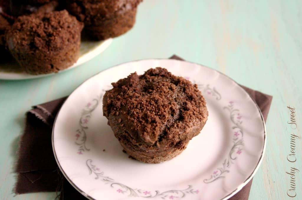 cocoa muffins 2 Cocoa Muffins