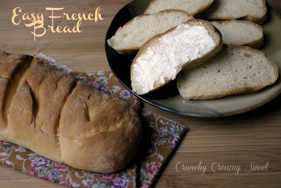 easy french bread 2 Easy French Bread