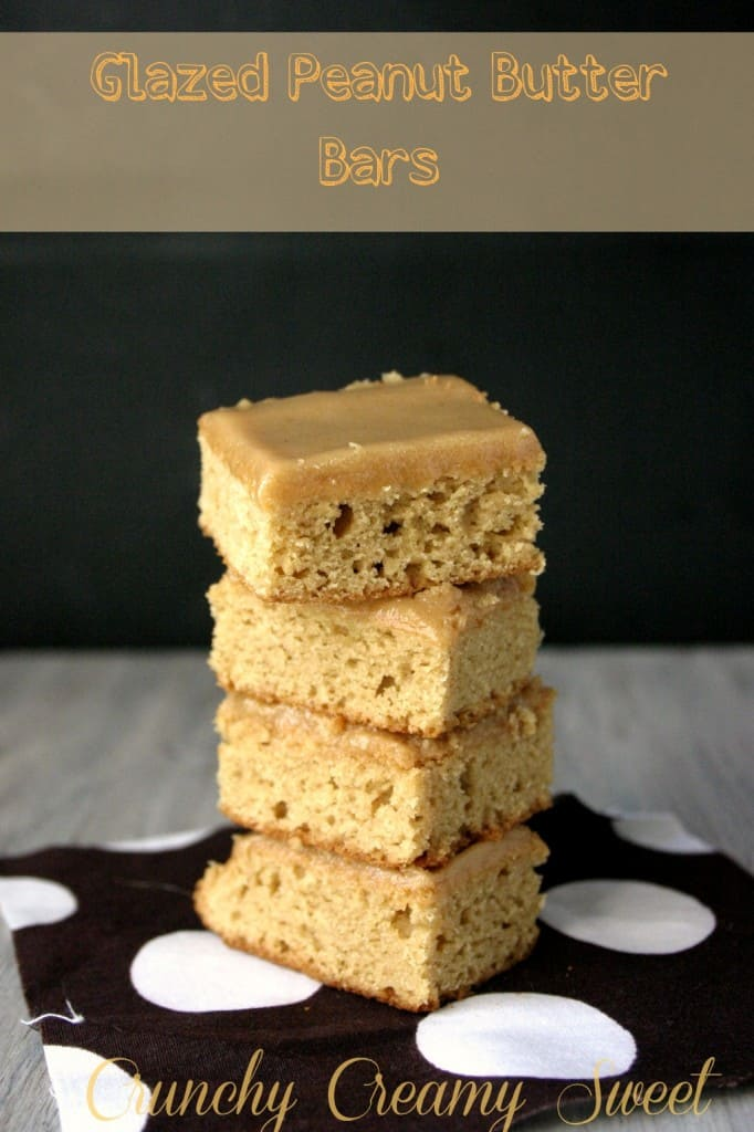 glazed PB bars1 682x1024 Glazed Peanut Butter Bars
