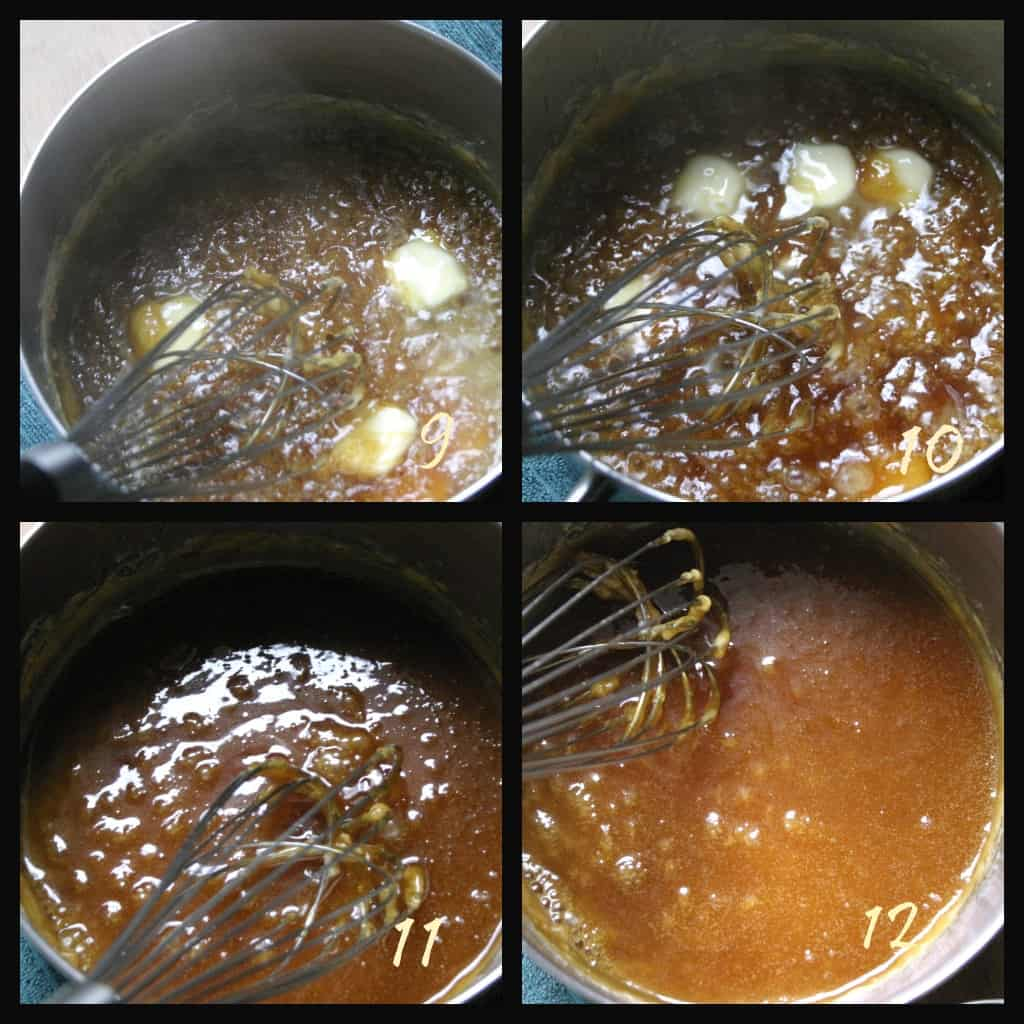 making caramel 3 Salted Butter Caramel Sauce