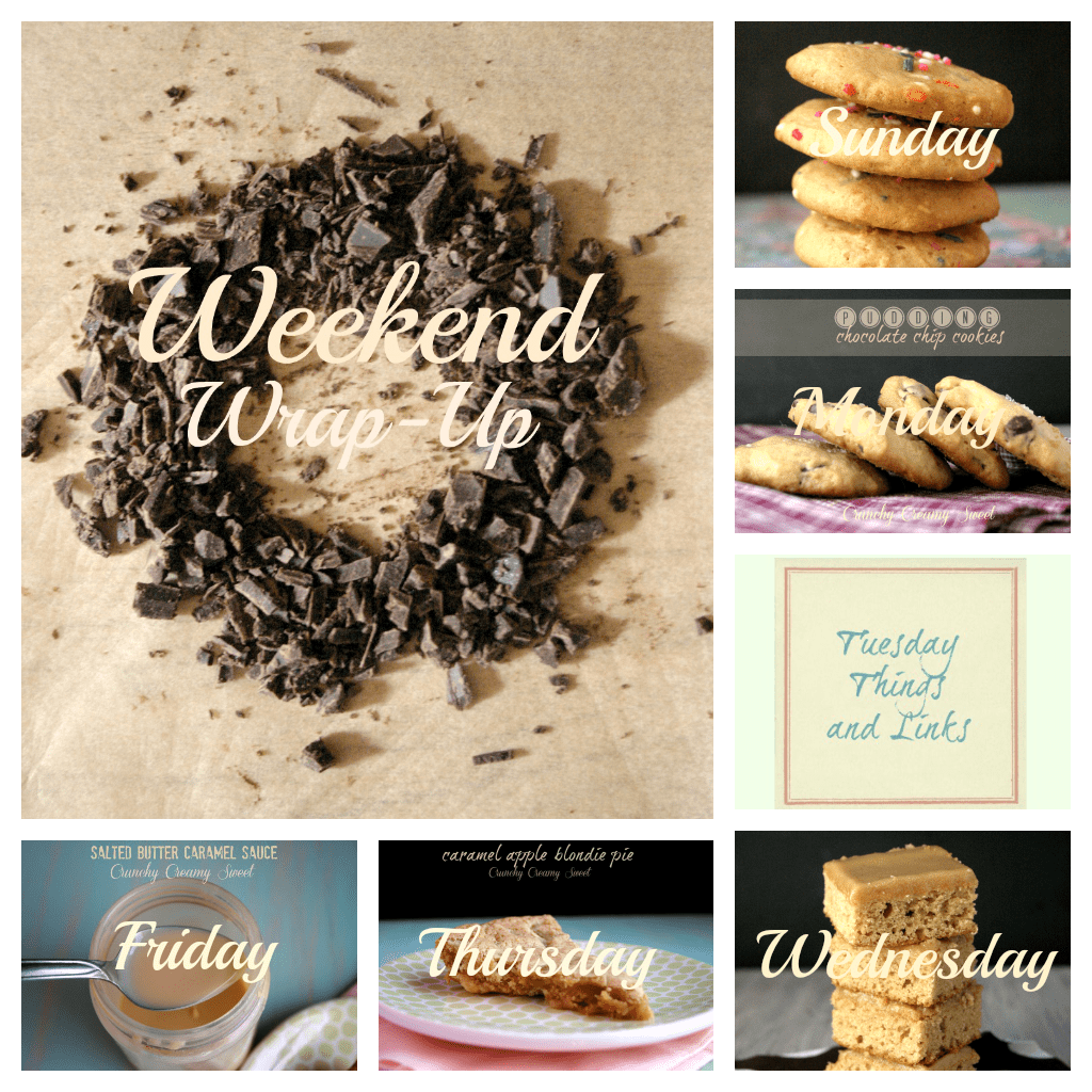 weekend wrap up sept1 Weekend Wrap Up