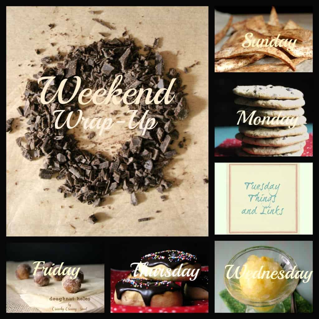 weekend wrap up sept1st Weekend Wrap Up