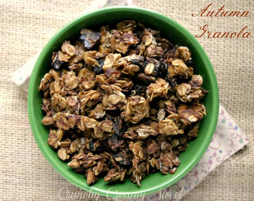 granola 2 a Autumn Granola
