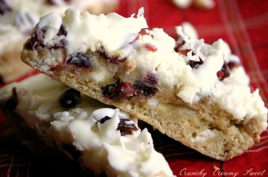 bliss bars 4a Cranberry Bliss Bars with Coconut