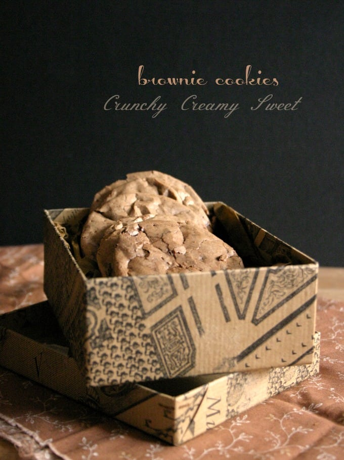 brownie cookies BB Monday: Brownie Cookies