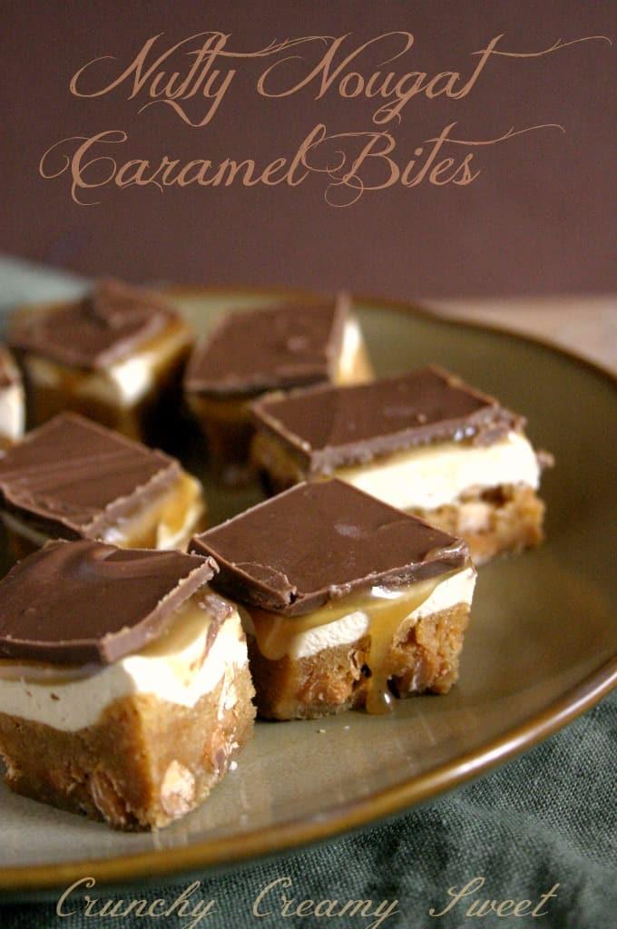 caramel bites 11 Nutty Nougat Caramel Bites