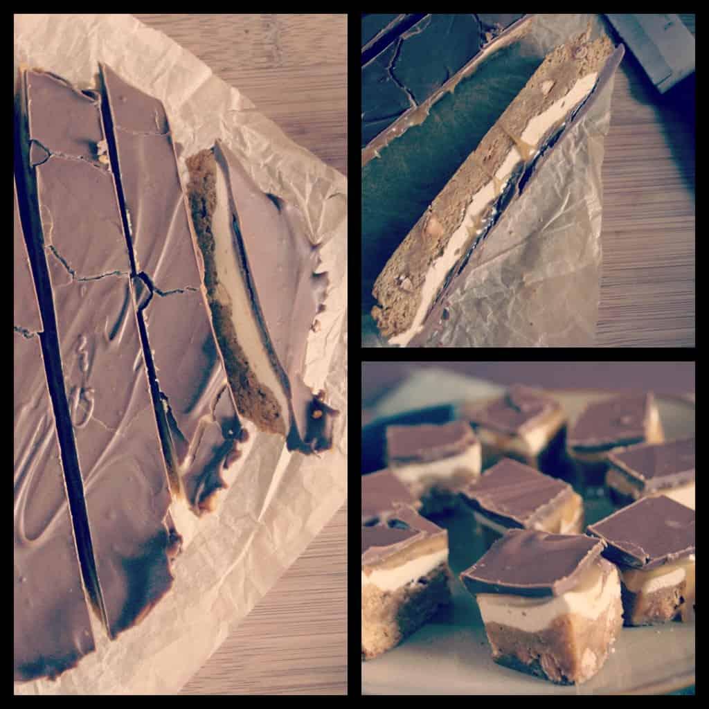 collage caramel bites1 Nutty Nougat Caramel Bites