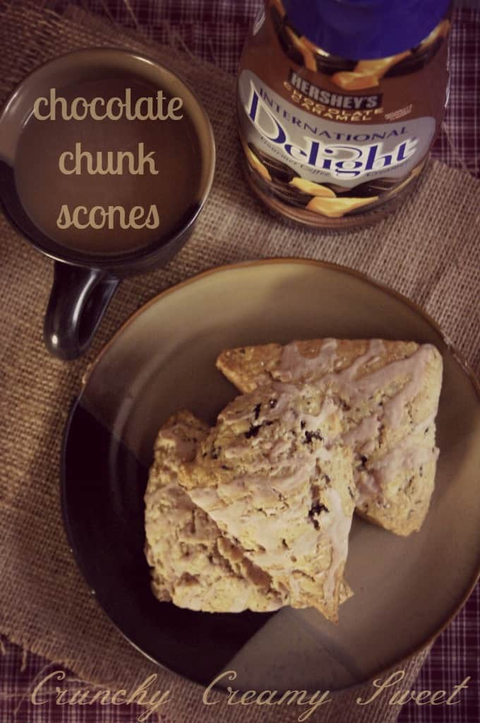 scones 1a Chocolate Chunk Scones with International Delight