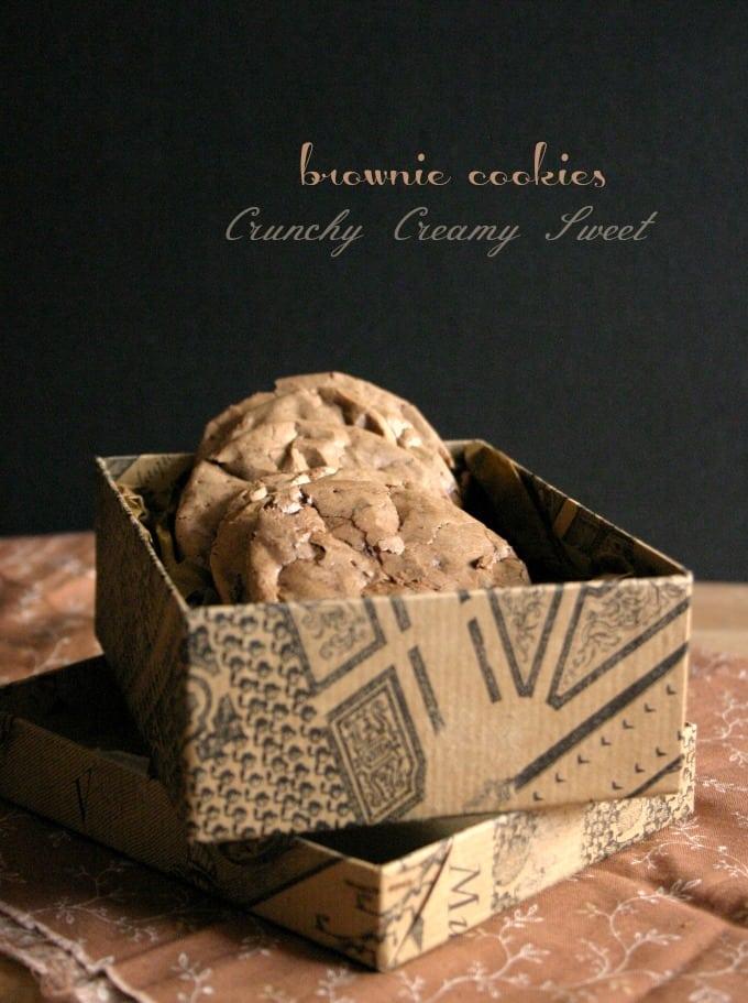brownie cookies National Cookie Day