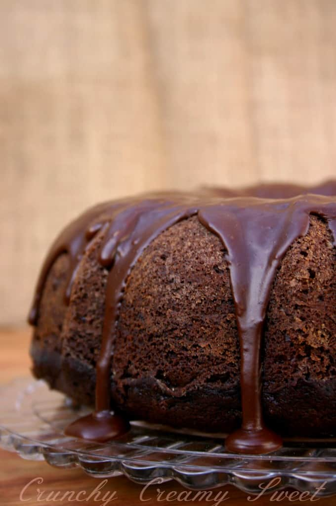 chocolate molasses bundt cake 3a Triple Chocolate Molasses Bundt Cake + GIVEAWAY!!!