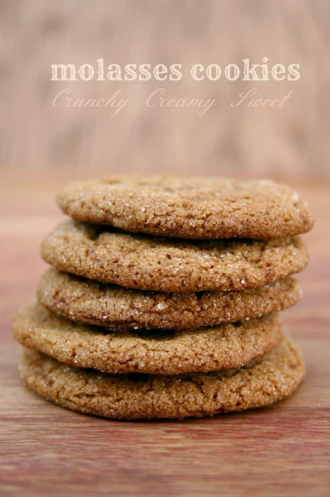 molasses cookies 2a Molasses Cookies