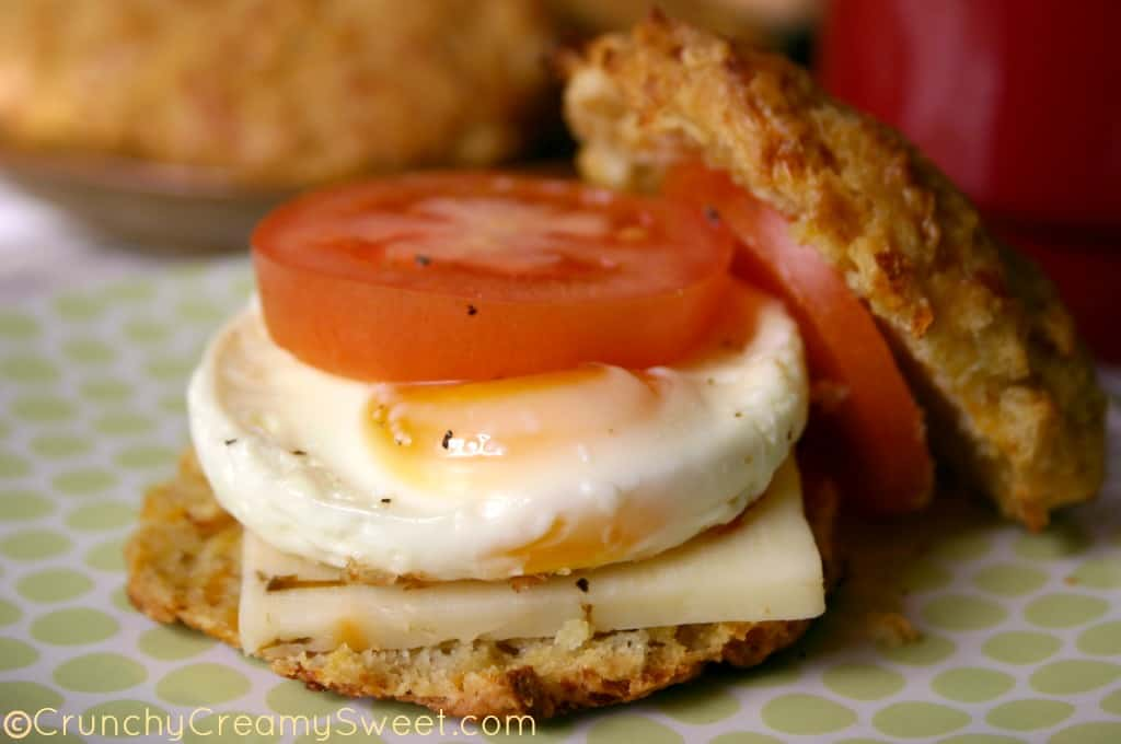 biscuit sandwich 11 Sweet Potato Cheddar Biscuits  {Sandwich}
