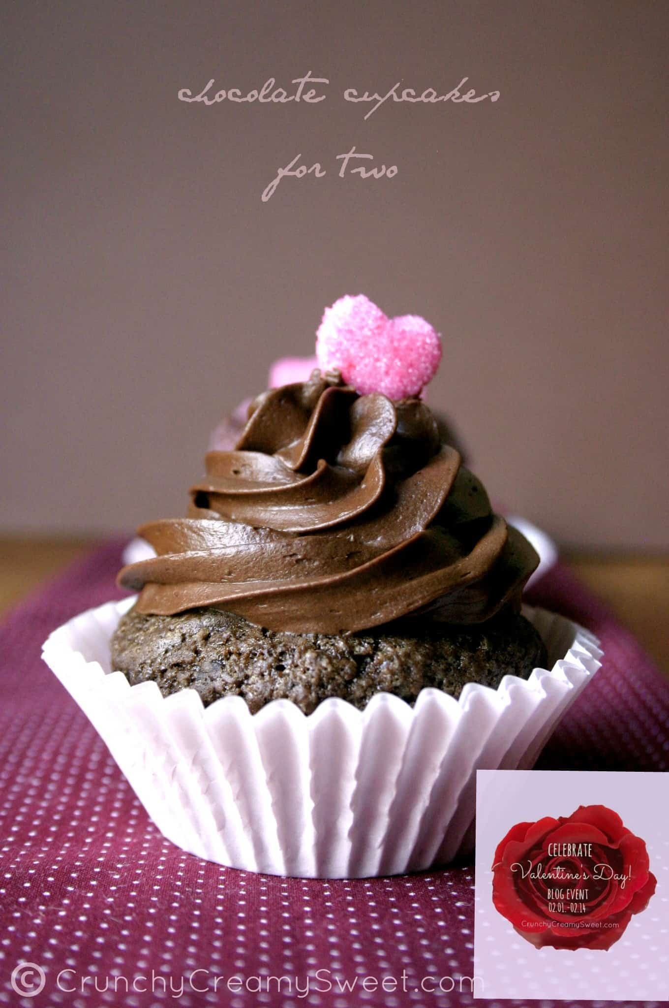 chocolate cupcakes for two logo Chocolate Cupcakes For Two   Valentines Day Celebration Event