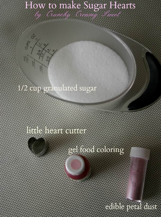 sugar hearts tut1 How To Make Sugar Hearts