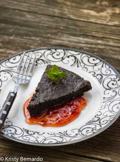 Chipotle Flourless Chocolate Cake Recipe — Dishmaps