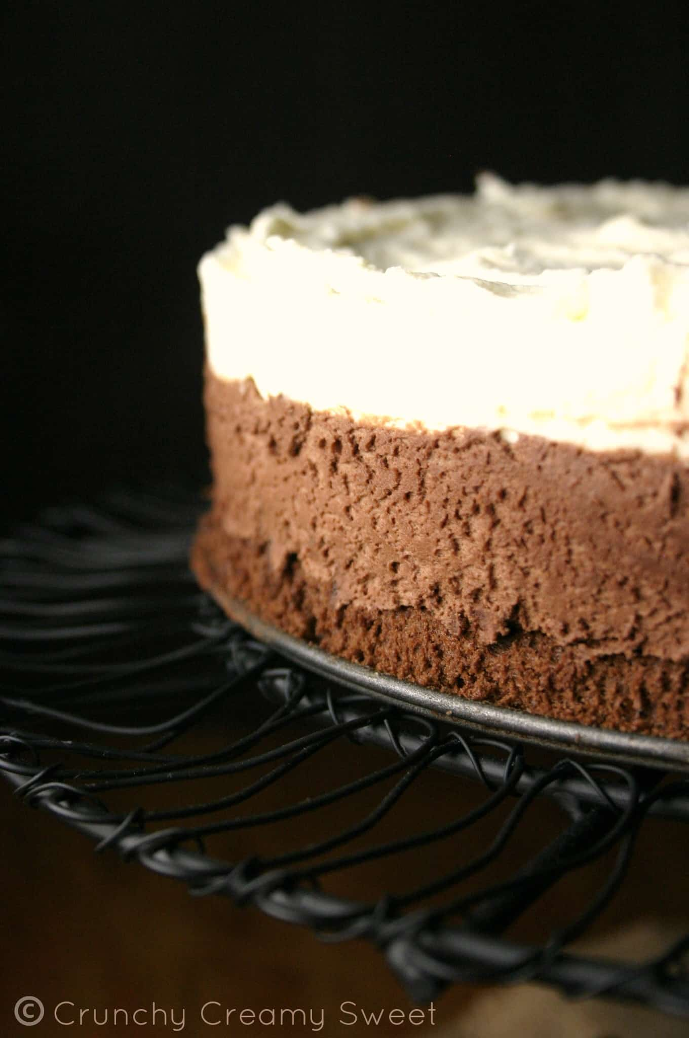 triple mousse 1 Triple Chocolate Mousse Cake