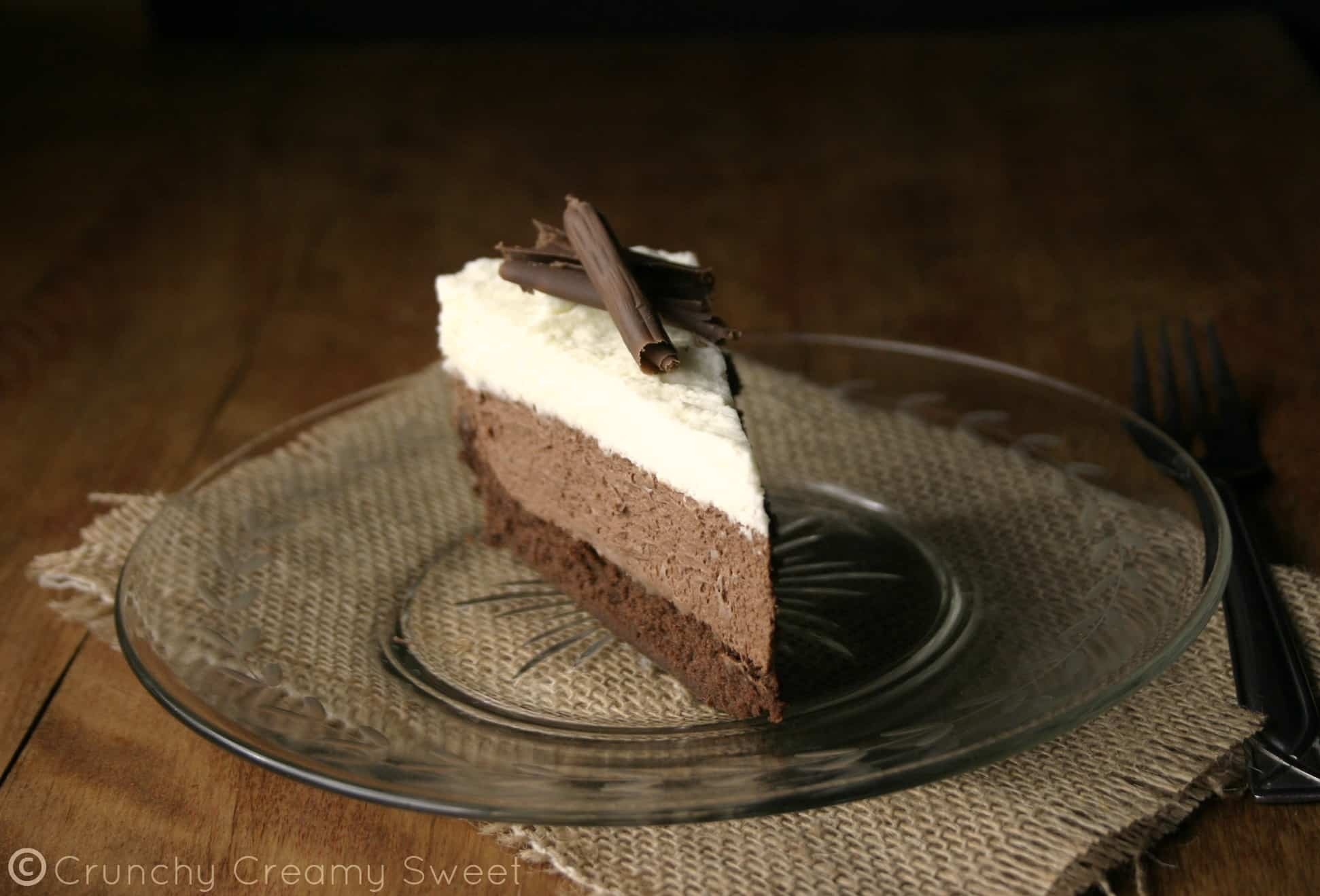 triple mousse 5 Triple Chocolate Mousse Cake