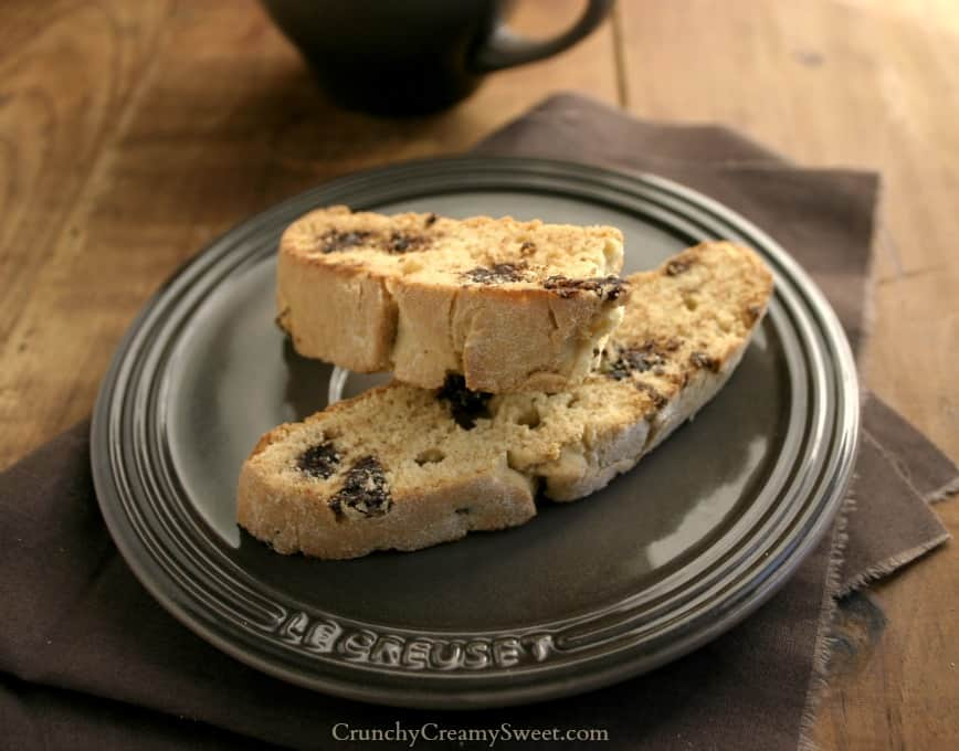 cc biscotti 5 Chocolate Chip Biscotti