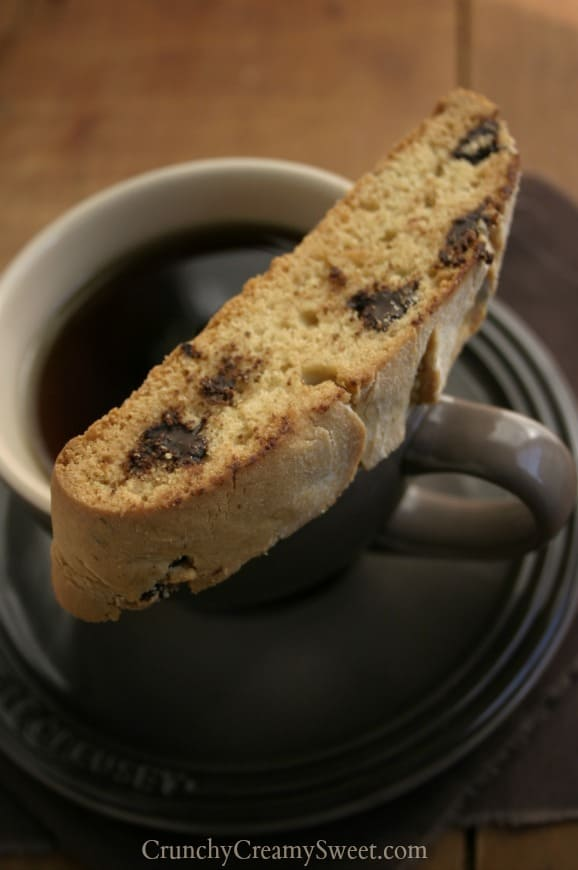 ccc biscotti 4 Chocolate Chip Biscotti