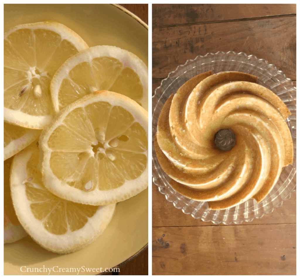 lemon bunt cake collage 1024x953 Lemon Bundt Cake