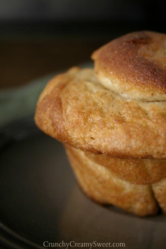 monkey bread muffins 4 Monkey Bread Muffins with 5 Minute Chocolate Sauce