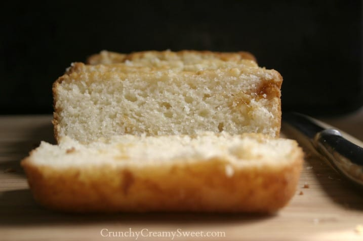 quick bread part 2 4 Quick Bread   Part 2 {flat top, regular loaf}