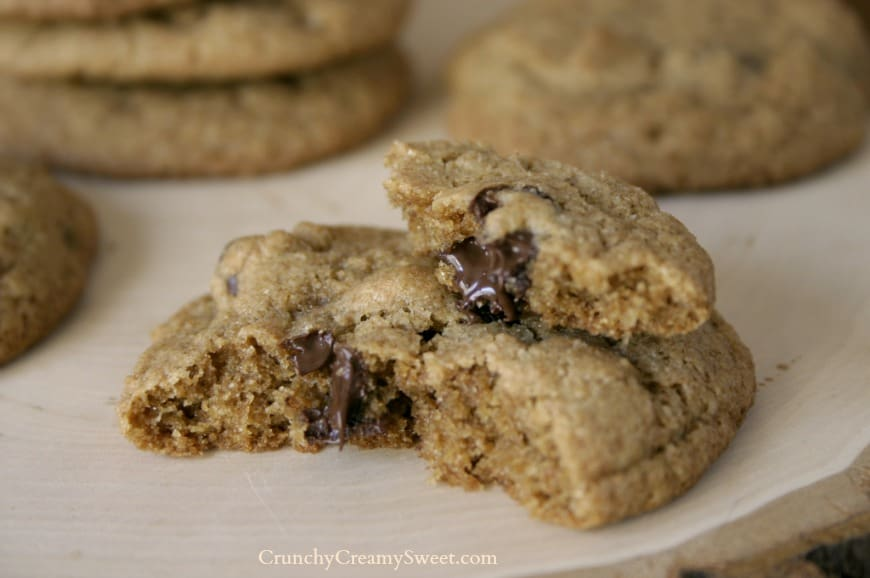 ww choc chip cookies 5 Whole Wheat Chocolate Chip Cookies