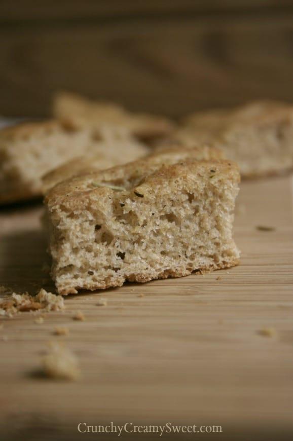 ww focaccia 5 Whole Wheat Skillet Focaccia