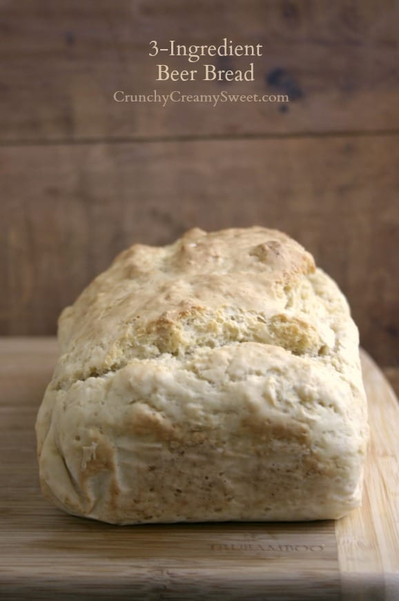 beer bread 1 3 Ingredient Beer Bread and 30 Great Sandwich Recipes