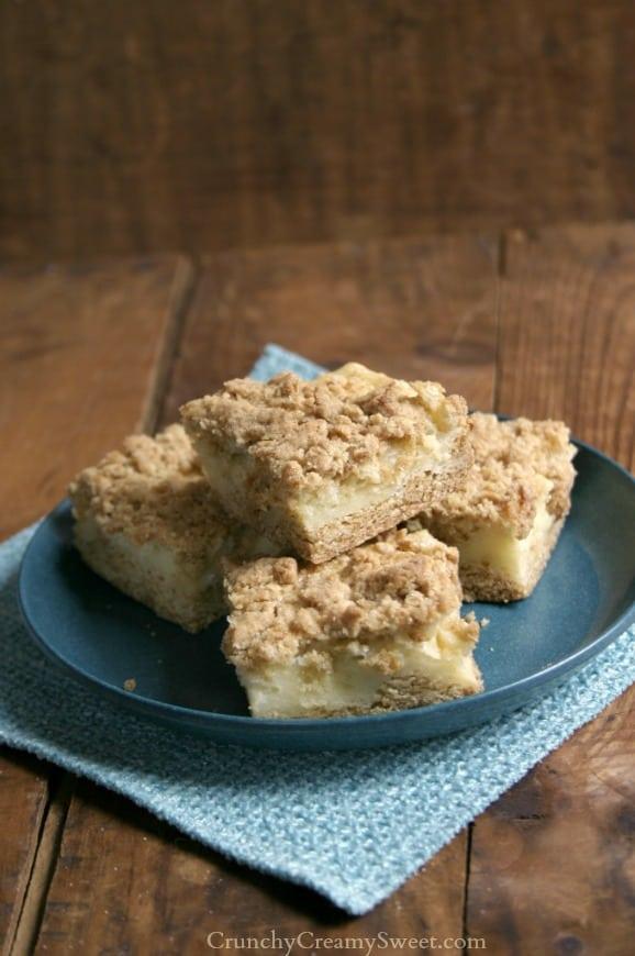 sour cream bars 4 Sour Cream Crumb Bars