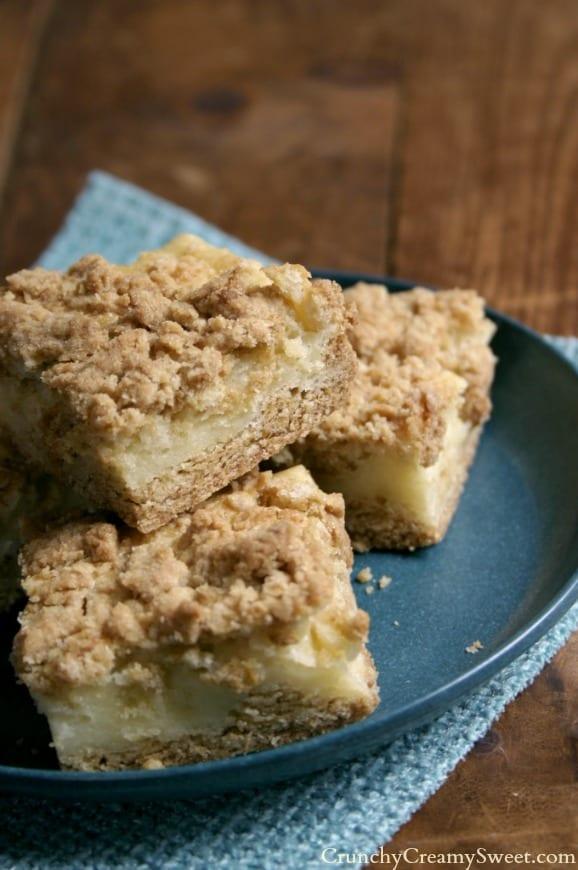 sour cream bars 5 Sour Cream Crumb Bars