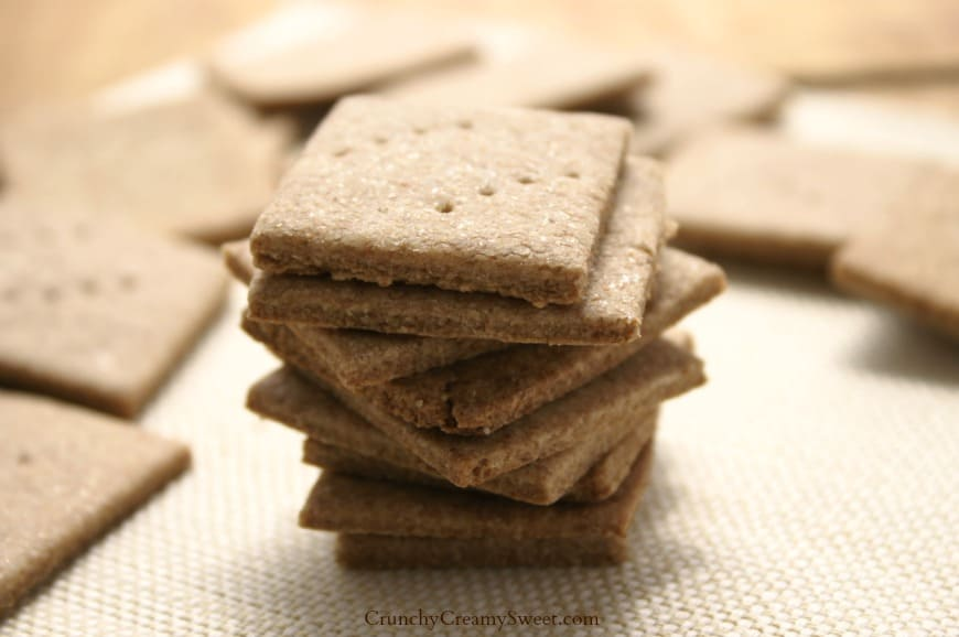 wheat thins 3 Homemade Wheat Thins