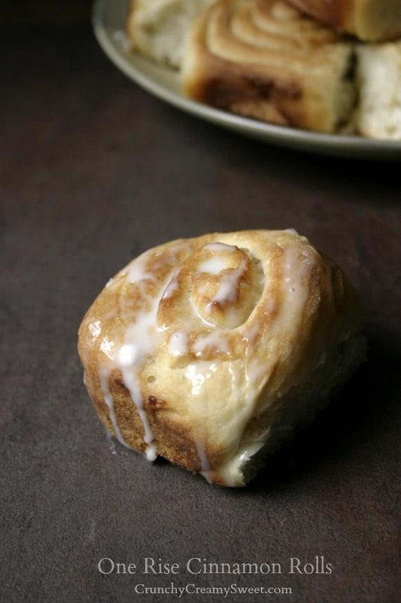 one rise rolls 1 One Rise Cinnamon Rolls