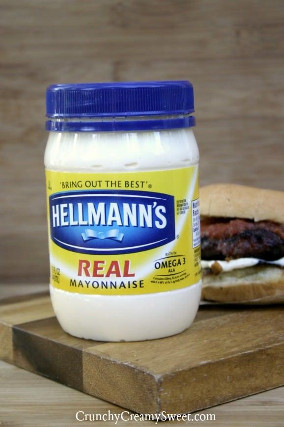 hellmanns6 Mango Lime Salsa Burgers