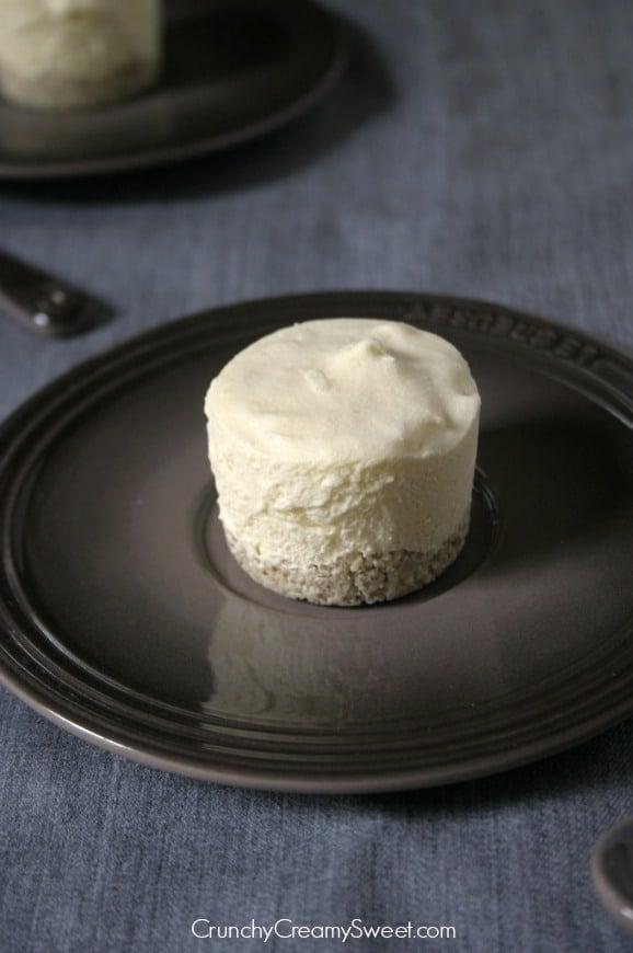 mini frozen cakes 1 Coconut Cream Mini Frozen Desserts with White Chocolate Magic Shell